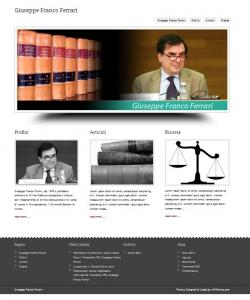 Le pubblicazioni di Giuseppe Franco Ferrari